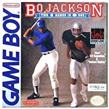 GB: BO JACKSON: TWO GAMES IN ONE (GAME)